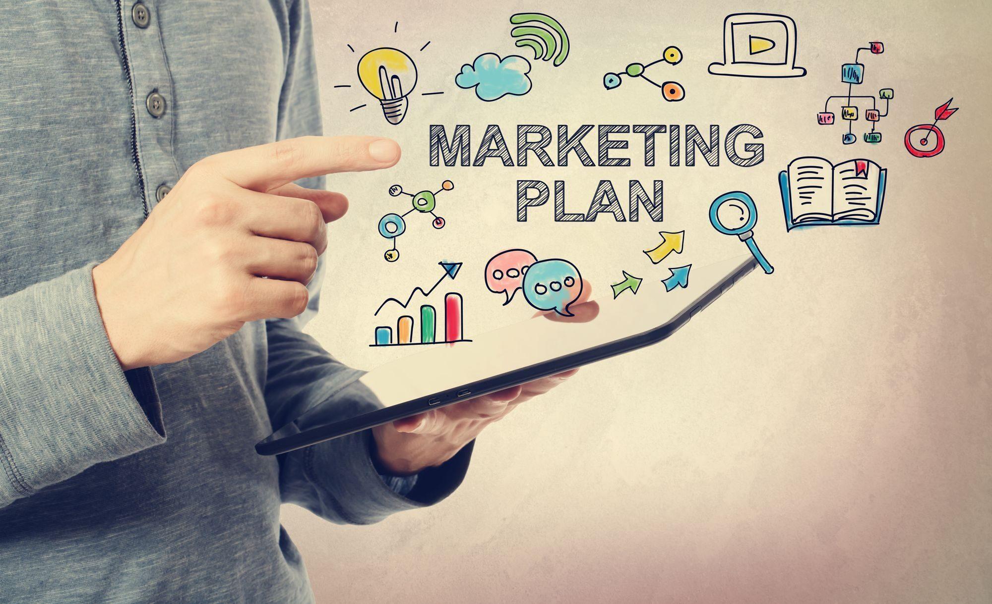 План маркетинга картинки
